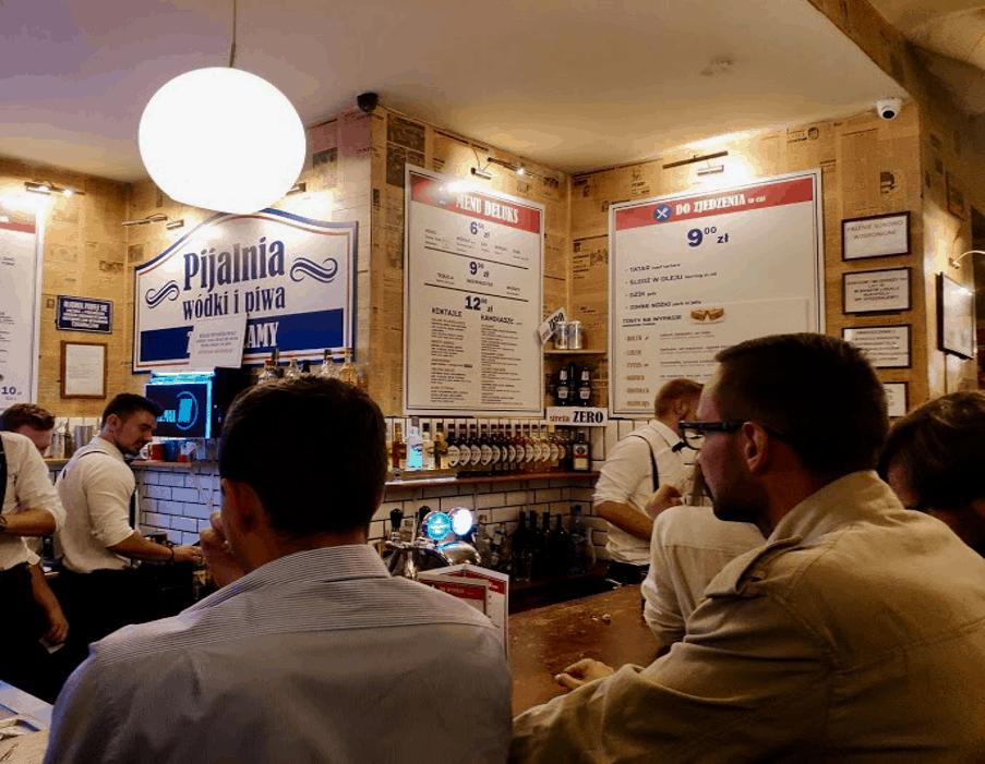 Pijalnia Wódki i Piwa vo Varšave