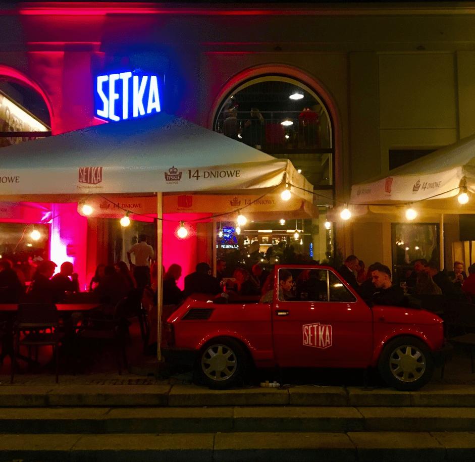 Reštaurácia Setka vo Varšave