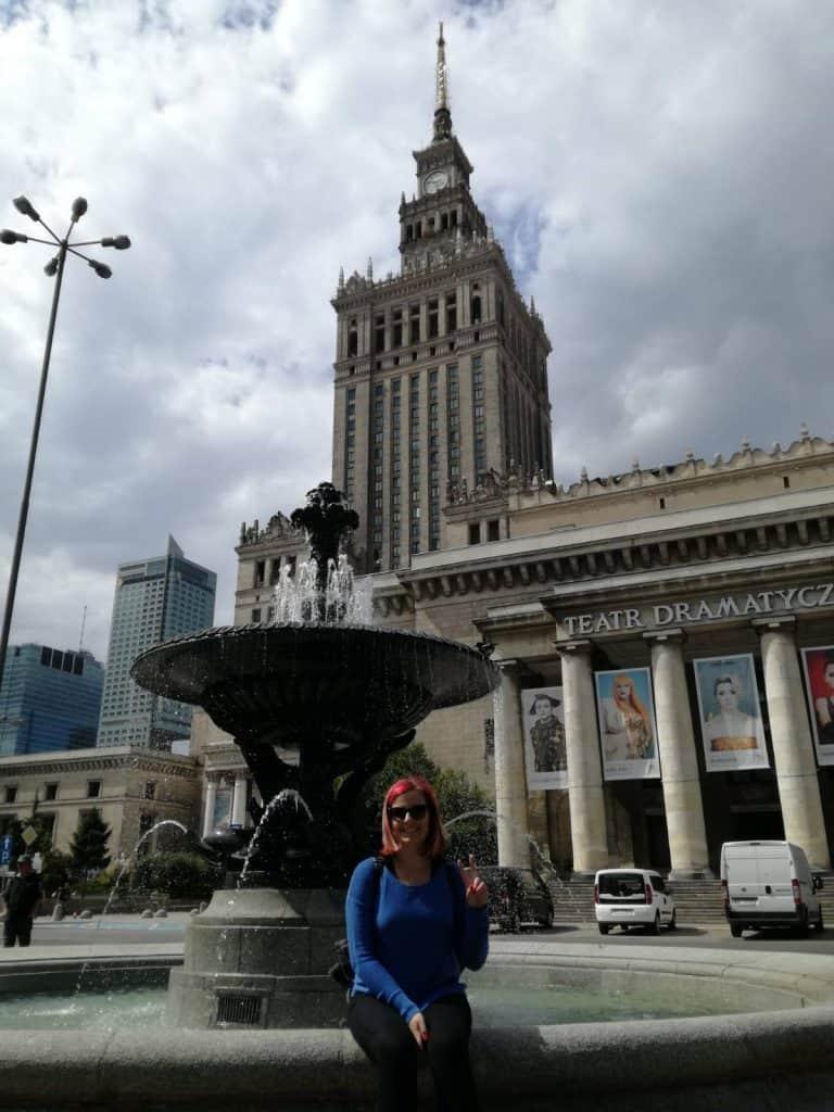 Palác kultúry vo Varšave