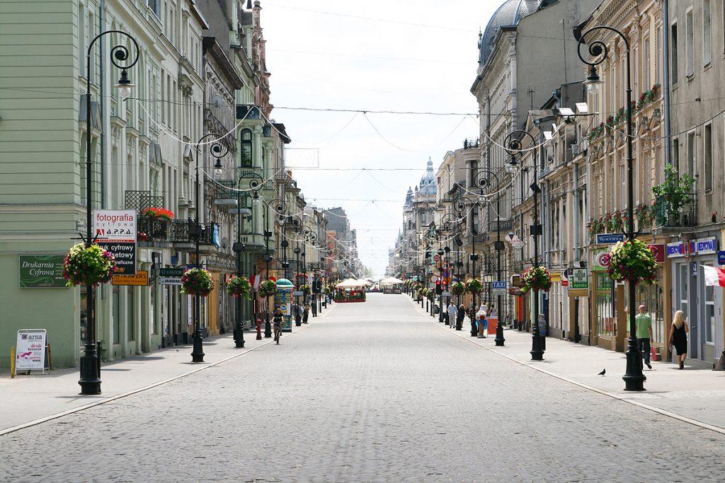 Piotrkowska ulica Lodž